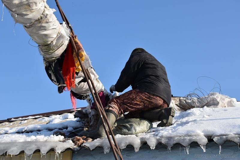 ВПензе как ираньше нет отопления в9 жилых домах